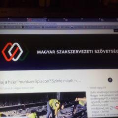 Erős kezdés – Blogot indított a Magyar Szakszervezeti Szövetség